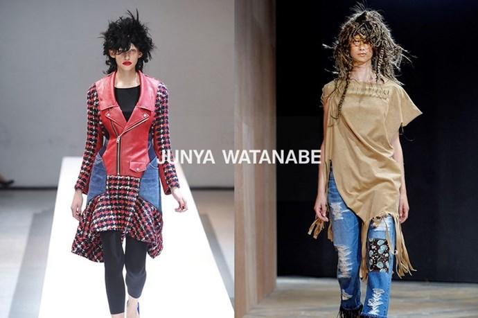 Junya Watanabe – <em>joon-yah wah-tah-nah-beh </em>