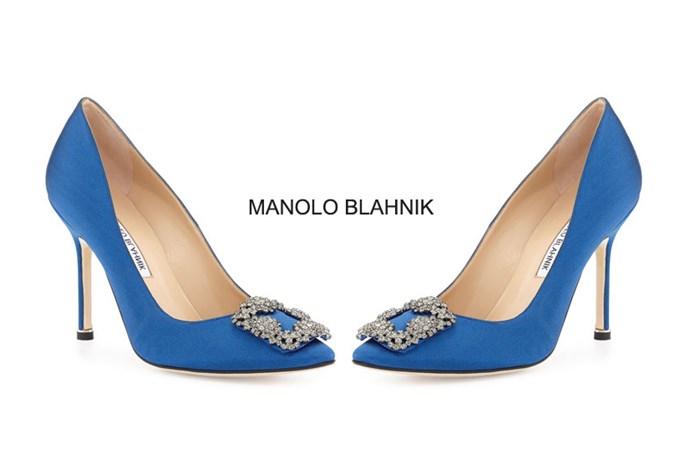 Manolo Blahnik – mah-no-lo blah-nik