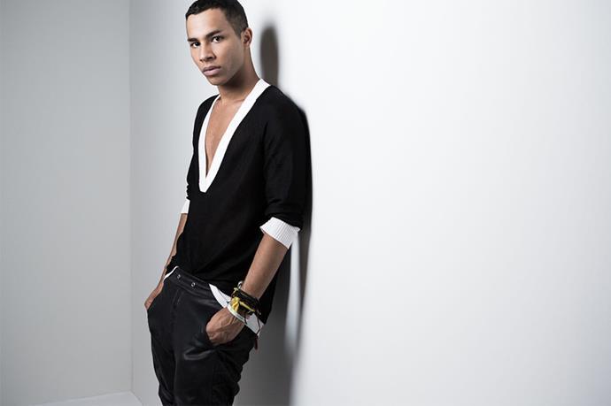 Olivier Rousteing - <em>oh-liv-ee-aye rhoos-tain</em>