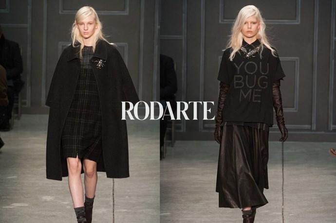 Rodarte – <em>roh-dart-ay </em>