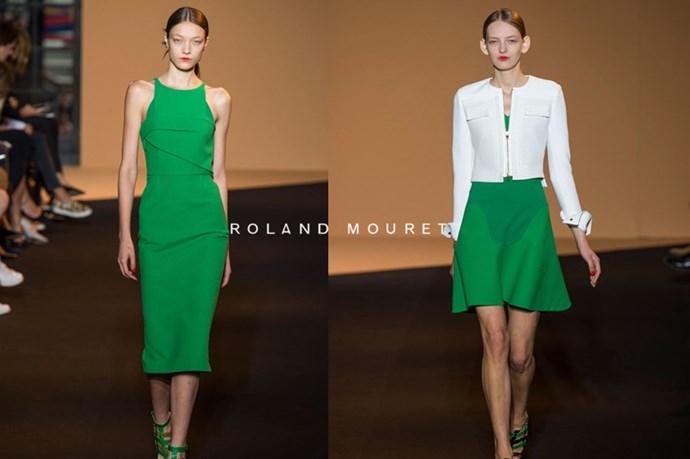 Roland Mouret –<em> roh-lahnd mor-ay</em>