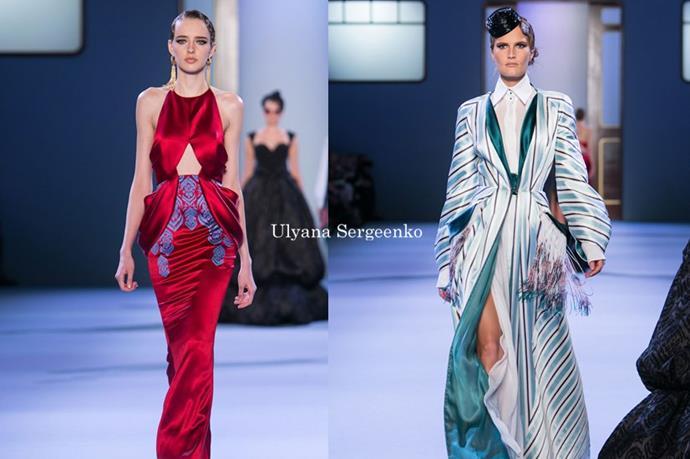 Ulyana Sergeenko - <em>uhl-yahn-uh sair-jane-koh</em>