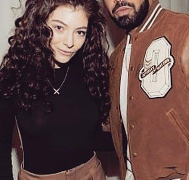 Drake and Lorde