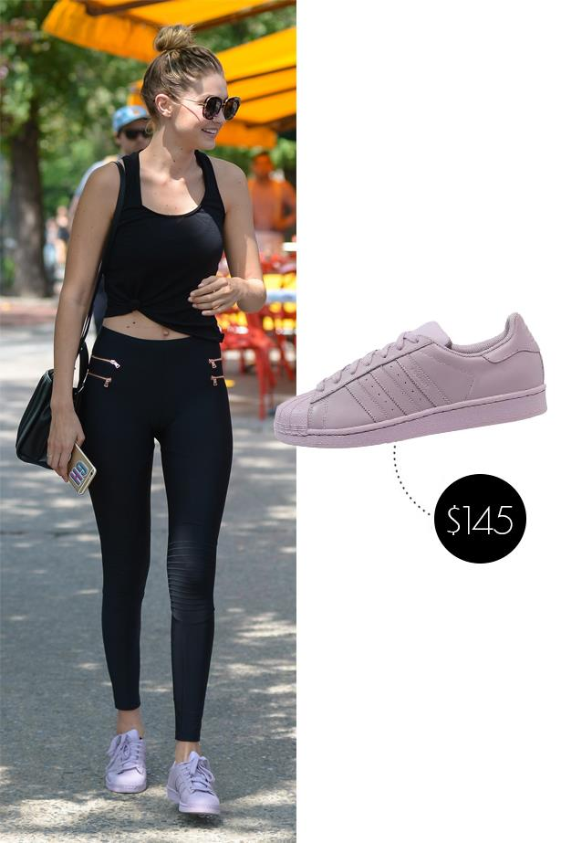 """<a href=""""http://www.theiconic.com.au/superstar-pharrell-supercolor-190998.html""""><strong>Adidas Supercolour</strong></a>, $78"""
