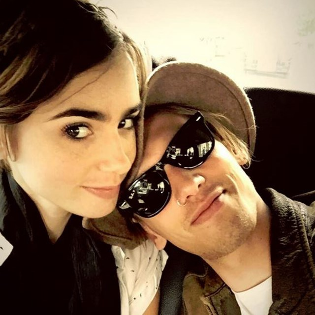 Lily Collins and Jamie Campbell Bower are officially back together!