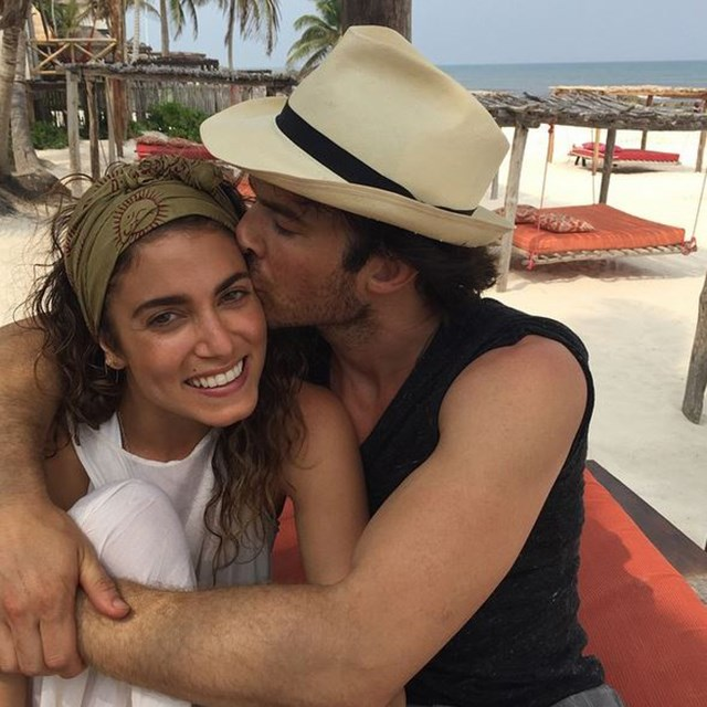 Nikki Reed and Vampire Diaries leading man, Ian Somerhalder have recently tied the knot.