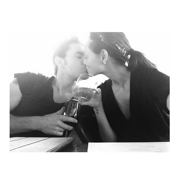Phoebe Tonkin and Vampire Diaries star Paul Wesley are out and out smitten.