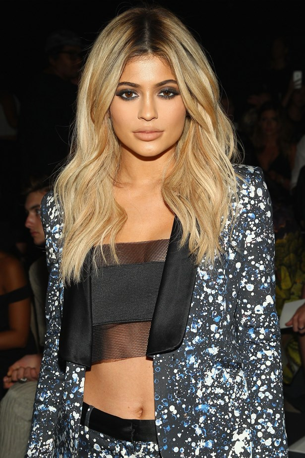 Kylie Jenner lips evolution