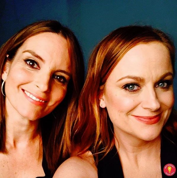 <strong>Amy Poehler</strong> <br> <br> <em>Smart Girls Have More Fun! #Friends20YearsAndCounting #Crackerjacks</em>