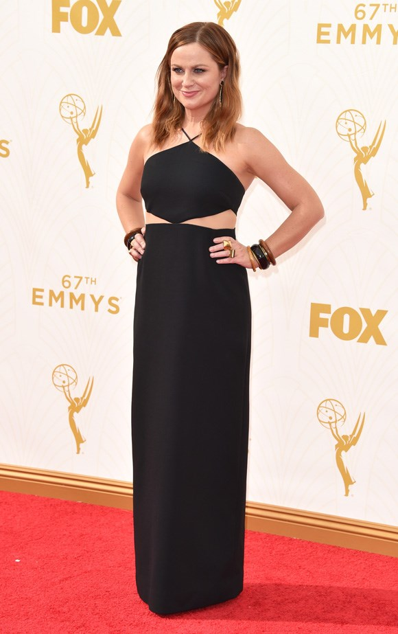 We barely recongized Amy Poehler, she looks fab!