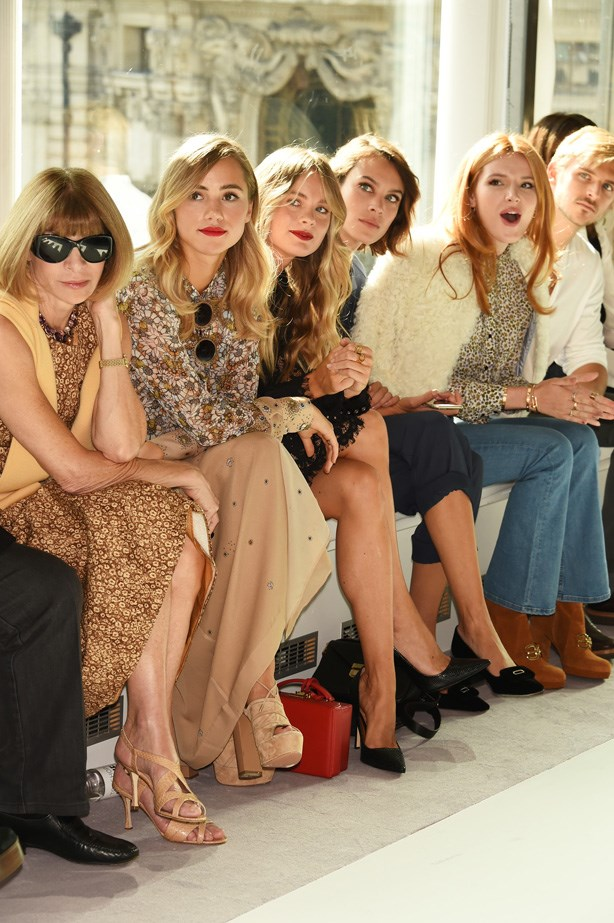 The FROW At Topshop Unique Is Seriously Legit