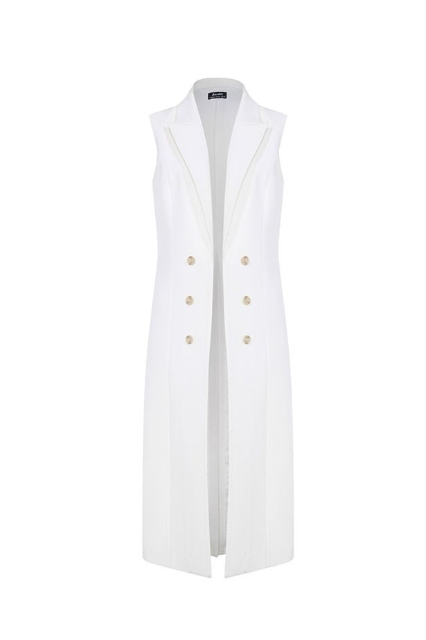"<p>The Vest</p> <p><a href=""http://www.bardot.com.au/Colette-Vest.aspx?p559460&cr=034918"">Bardot Floor Length Vest</a></p> <p>$129.95</p>"