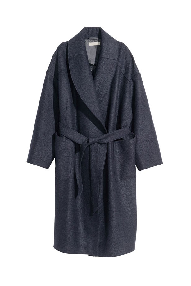 "<p>The Oversized</p> <p><a href=""http://www.hm.com/au/product/30320?article=30320-A"">H&M Bouclé Coat</a><p> <p>$139</p>"