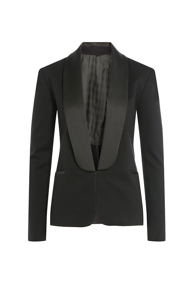 "<p>The Blazer</p> <p><a href=""http://www.stylebop.com/au/product_details.php?menu1=clothing&menu2=6&id=637636"">Karl Lagerfeld Blazer</a></p> <p>$371</p>"