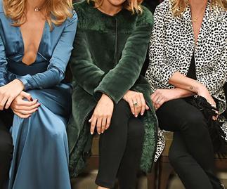 Suki Waterhouse, Sienna Miller and Kate Moss front row at Burberry Prorsum