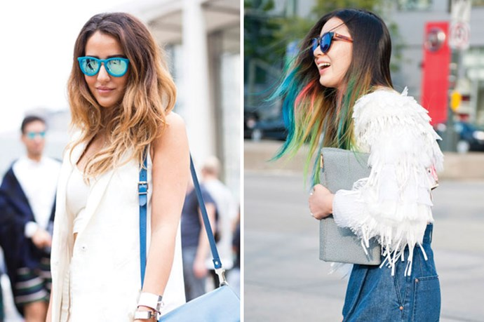 <strong>Two-Toned Hair</strong> <br> <br> In rainbow tones or natural ombre shades, varied shades is a sure fire way to grab attention. Bonus points for the addition of stand-out shades.