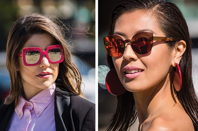 <strong>Match Makers </strong> <br> <br> Matching your lippie to your sunnies is chic and street-style smart