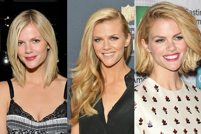 <strong>Brooklyn Decker</strong> <br> <br> Has shown true versatility when it comes to the hair department having had a variety of cuts and styles throughout the years. Although her layered lob in 2011 was a bit 'blah' by our standards, the Sports Illustrated model once again made the case for the luscious, layered locks – it's a classic for a reason, before going full circle with a full, asymmetrical bob (never underestimate the power of a deep part), that has us feeling, and loving her Southern Belle vibes.