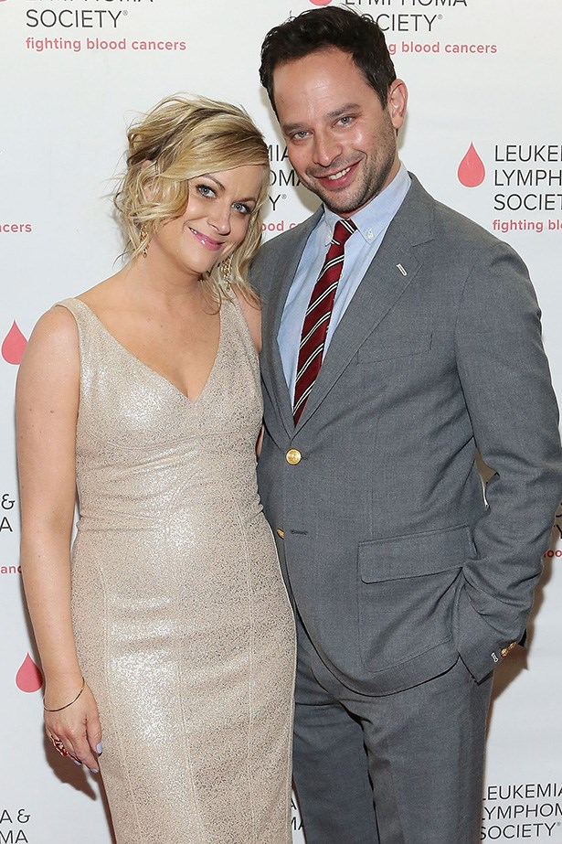 """Nooo. We were so sad to hear that, according to People Magazine, our favourite funny/bad ass lady Amy Poehler and her partner of two years, Nick Kroll have split. They pair starred in each other's TV shows and were, frankly, adorable. Poehler once told People of dating in her 40s (she already broke our hearts once when she and Will Arnett divorced, sob!) that, """"I find my relationships at 40-plus are really emulsified, juicy relationships because you have more of a sense of who you are and who you want to be around."""" Keep being wonderful you, Amy."""