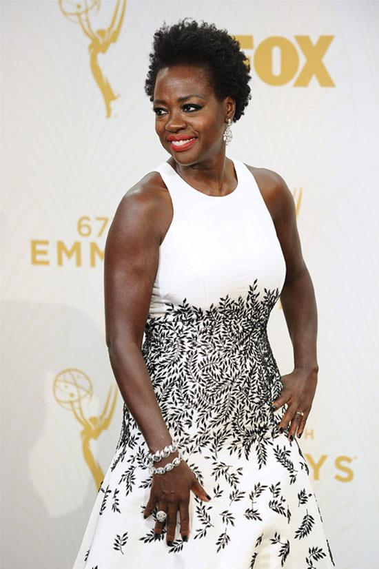 <strong>Viola Davis:</strong> 'The only thing that separates women of colour from anyone else is opportunity. You cannot win an Emmy for roles that are simply not there.'