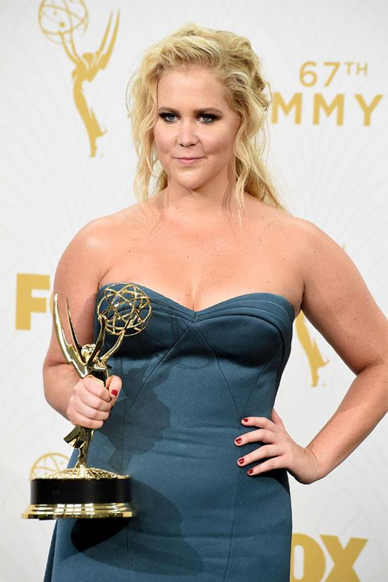 <strong>Amy Schumer:</strong> 'I don't think they want to hear a woman talk for too long. A lot of people project their mum yelling at them. My [career] has been about tricking people into listening. I'm not saying all men hate women, but there's such an aggression.'