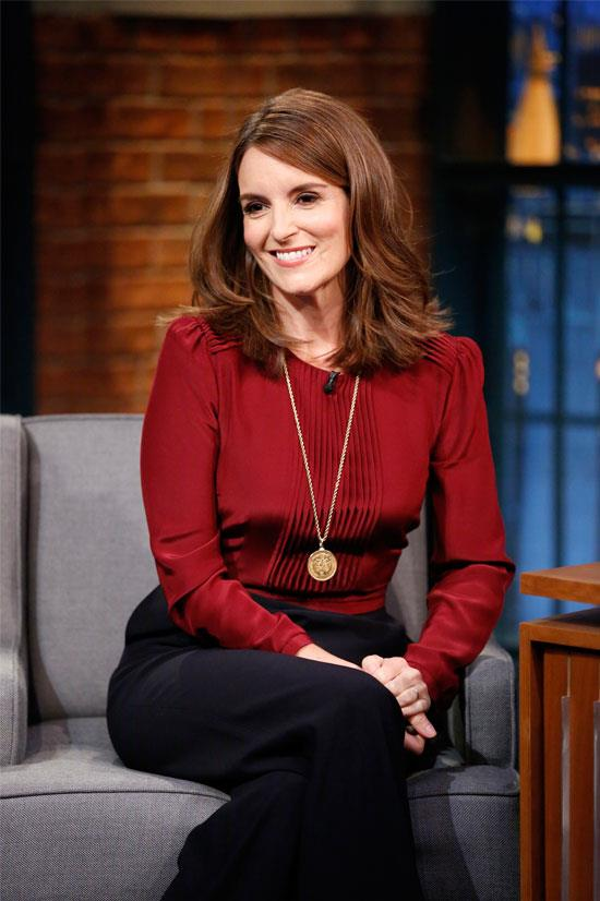 <strong>Tina Fey:</strong> 'I have a suspicion that the definition of 'crazy' in show business is a woman who keeps talking even after no one wants to f**k her anymore.'