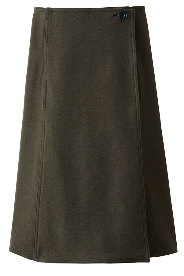 Skirt, $129.90, Uniqlo and Lemaire