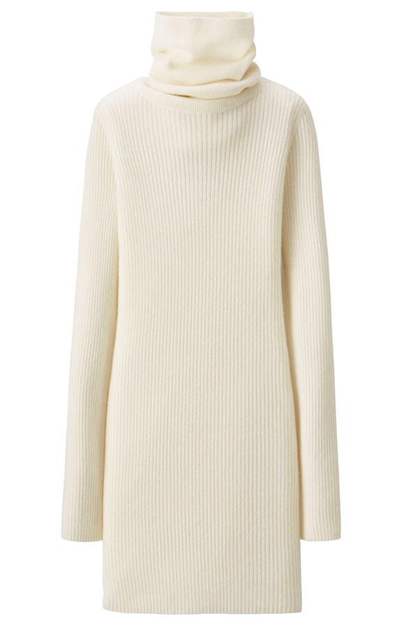 Knit dress, $99.90, Uniqlo and Lemaire