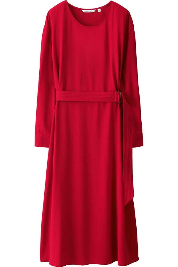 Dress, $79.90, Uniqlo and Lemaire