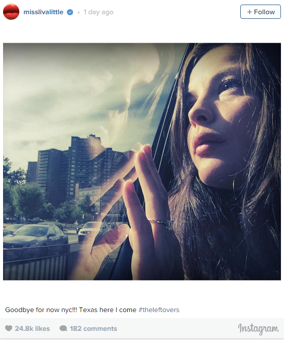 Liv Tyler hasn't formally announced her engagement to sports agent (and David Beckham's bestie!), but she's hardly hiding it - she's been sporting a ring for a few months. The pair have a 7 month-old baby together, Sailor. We particularly love this photo that she posted to her Instagram - just beautiful.
