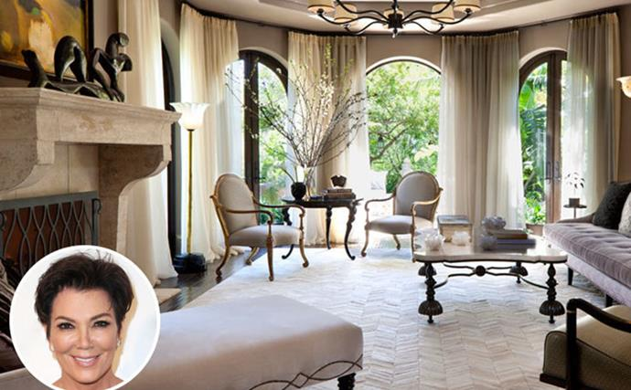 Inside Kris Jenner's Glorious Redesigned Mansion