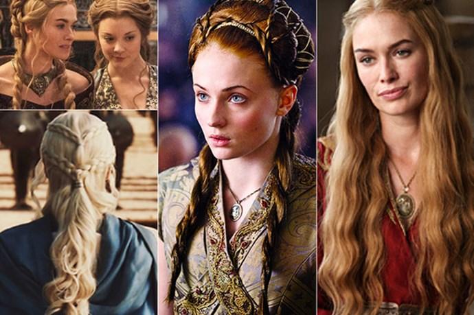 <em><strong>Game of Thrones</strong></em> <br> <br> The <em>Lannister </em>ladies et al. brought back the braid and spawned countless <em>YouTube </em>tutorials.