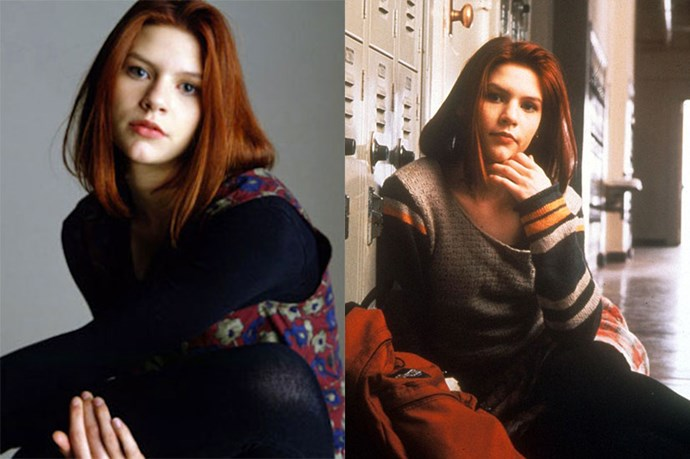 """<em><strong>My So Called Life </strong> <Br> <br></em> <em>Claire Danes'</em> red hair completed her character <em>Angela Chase's</em> on point '90's look perfectly. <br> <br> If you were a teenager when this came out chances are you rushed to your local chemist for a box of <em><a href=""""http://www.chemistwarehouse.com.au/buy/41857/Napro-Live-Colour-Mahogany"""">LIVE</a></em> colour in an attempt to get her look."""