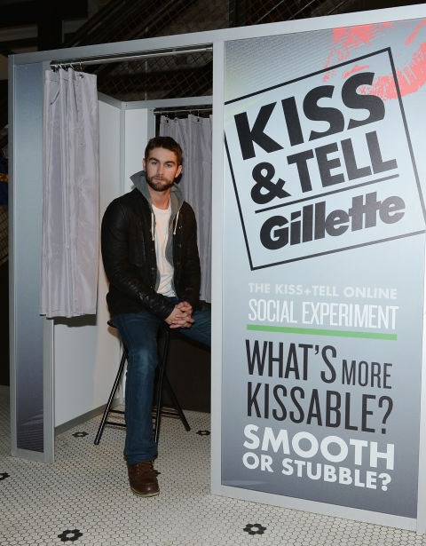 WAITING FOR SOMEONE TO KISS HIM SO HE CAN TELL PEOPLE ABOUT IT Aw.