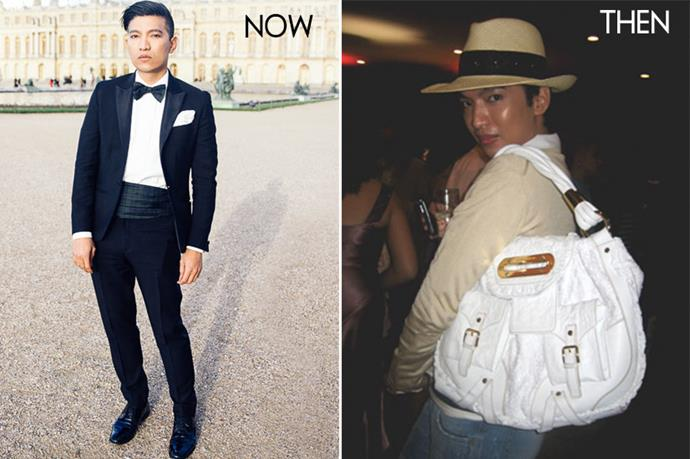 <p>Bryan Grey Yambao of Bryanboy.com was once a web developer, who started documenting his love for fashion at 24 creating photo-shoots in his parents' Manila home. He now lives in New York and blogs for a living. </p> <p>Images from atelierblog.com and Bryanboy.com</p>