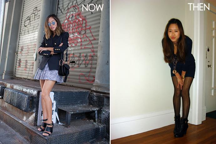 <p>Aimee Song from songofstyle.com began blogging in 2008 while studying Interior Architecture. She's since moved her focus to fashion blogging and lives in LA. </p> <p>Images from songofstyle.com</p>