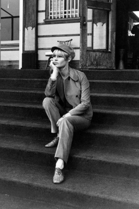 In New York in 1966. GETTY