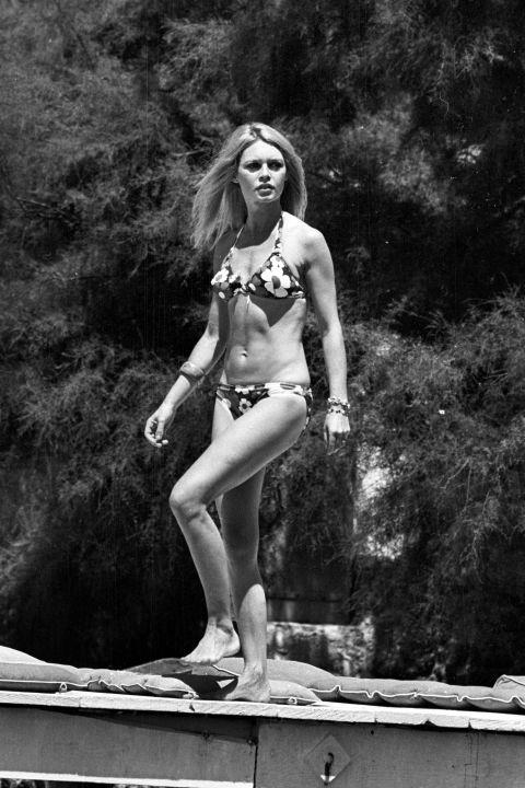 At the Madrague in Saint Tropez, June 26, 1968. GETTY