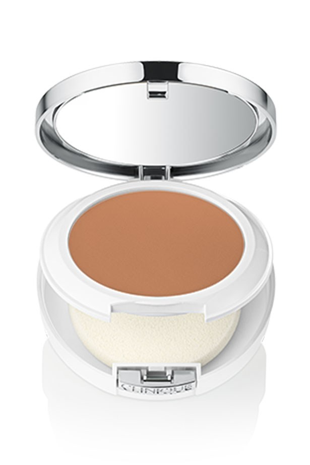 """<strong>Trust touch-ups</strong> <br> <br> Props to you if you're brave enough for naked face, but for the rest of us, fading foundation at 4pm isn't the most flattering avenue. Instead of just letting your base wear off, try for regular touch-ups to ward off a cracked and creased base. Compact foundations make them delightfully desk-friendly. <Br> <br><em> <em>We love</em> <a href=""""http://www.clinique.com.au/product/1599/37389/Makeup/Foundations/Beyond-Perfecting-Powder-Foundation-and-Concealer"""">Beyond Perfecting Powder Foundation and Concealer, Clinique</a> </em>"""