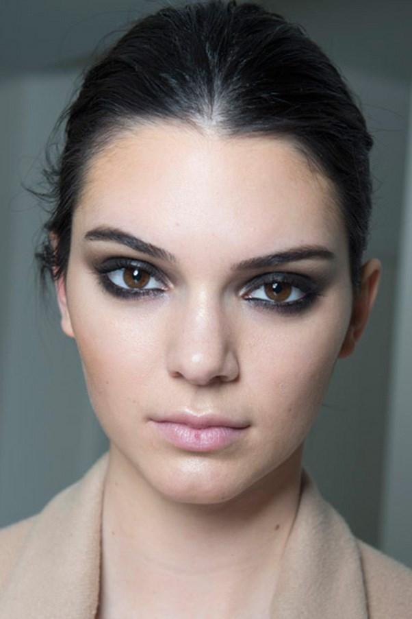 """<strong>SMOKY EYES</strong> <br><br> Each season we wait for the new smoky-eye rules, but this time we could barely keep up. Think wide-eyed applications of dark greys and blacks, warming lighter charcoals and browns and gem stone tones. <br><br> <strong>Seen at:</strong> Dane von Furstenberg (pictured), Chanel, Elie Saab <br><br> <strong>Expert tip: </strong> """"To do even the most dramatic of eyes you need a collection of brushes: one to do a big wash, like an oval brush which does all your rounding and shaping and creating a wash of colour; a contour brush that will give you a socket and a bit more definition. Then you need something fine and tiny to work around the lash line – to smudge out pencil and smudge out eyeliner; and finally an eyeliner brush if you're going to work with eyeliner,"""" <strong>Rae Morris, Priceline Pharmacy Makeup Director</strong>."""