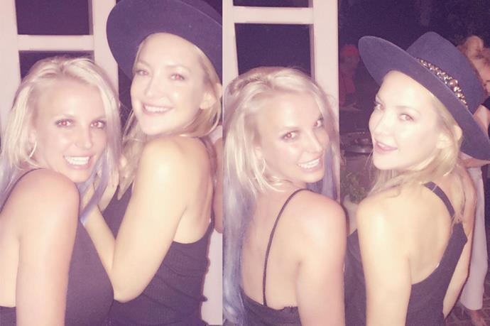 KATE HUDSON AND BRITNEY SPEARS. Games-night-crashing-friends.