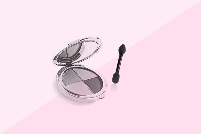 The same theory applies to waterline eyeliner, as well. Use a damp sponge (like those ones you get in the little eyeshadow compacts), and press it into the pigment on your choice. Give it a few taps to shake off the excess and then run it along your waterline.