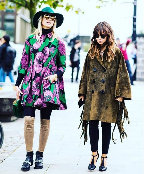 <em><strong>MIROSLAVA DUMA</strong></em> <p> She's since graduated to street style shots and life-envy humble-brags.