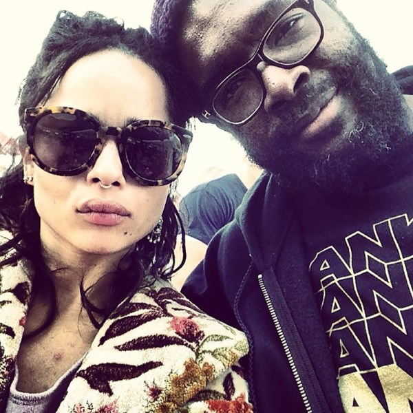 <em><strong>ZOE KRAVITZ</strong></em> <p> We think having Lenny Kravitz and Lisa Bonet as your parents means you pretty much can't be uncool - exemplified by Zoe's first Insta post: a shady selfie.