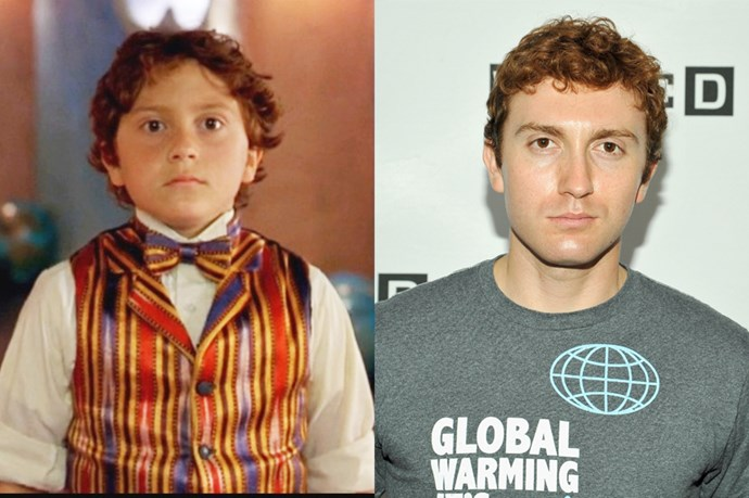 <em><strong>DARYL SABARA</strong></em> <p> <p> <em>Spy Kids'</em> Juni Cortez, or Daryl Sabara in real life, grew up pretty well.