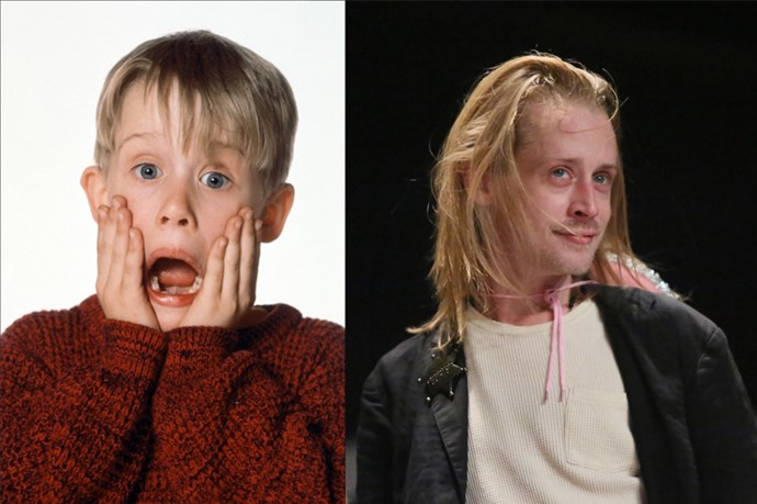 <em><strong>MACAULAY CULKIN</strong></em> <p> <p> He was in pretty much every kids movie back in the day (<em>Home Alone, Richie Rich, My Girl, The Good Son</em>, we could go on), but these days he's mostly on stage with his band, Pizza Underground.