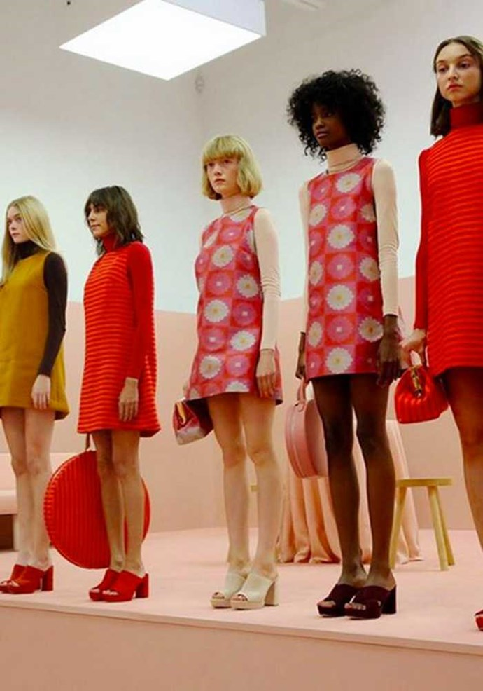 Mansur Gavriel, the first post recession IT bags, branched into clothing for the very first time and New York wanted it all. Image: Instagram