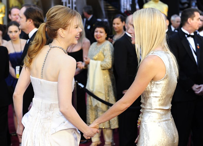 <strong>NICOLE KIDMAN AND GWYNETH PALTROW</strong>