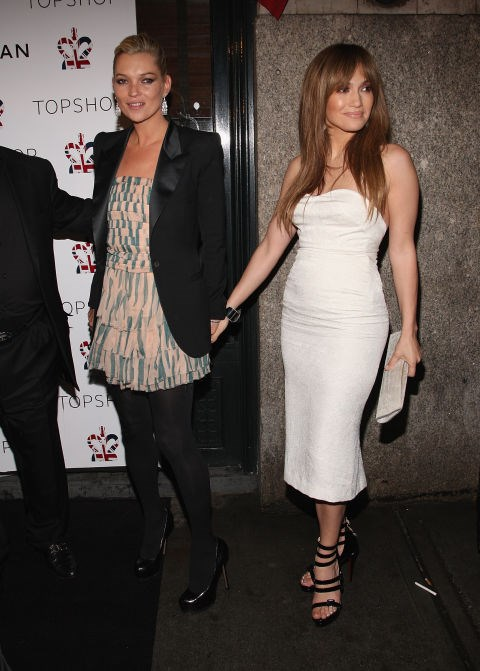 <strong>KATE MOSS AND JENNIFER LOPEZ</strong>