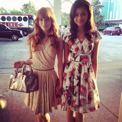 <strong>BELLA THORNE AND ZENDAYA</strong>